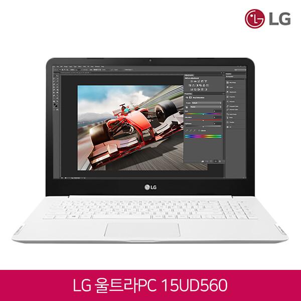 LG전자 울트라PC 15UD560-GX51K (코어i5-6200U/8G/SSD128G+HDD500G/인텔HD520/윈도우10)