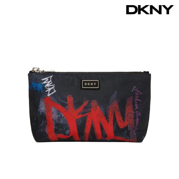 DKNY 디케이앤와이 Gigi Graffiti Cosmetic Pouch 파우치