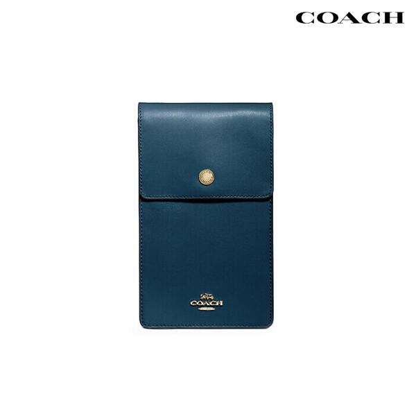 COACH 코치 Snap Phone Crossbody 크로스백