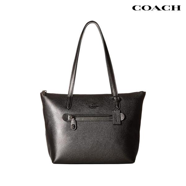COACH 코치 Taylor Metallic Leather Tote 토트백