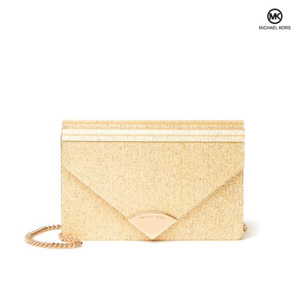 MICHAEL KORS 마이클코어스 Barbara Medium Envelope Clutch Bag 클러치 크로스백