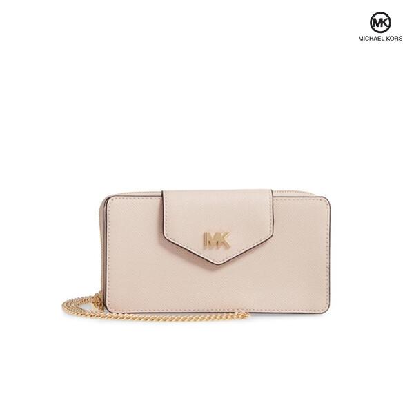 MICHAEL KORS 마이클코어스 Small Convertible Leather Wallet Crossbody 크로스백