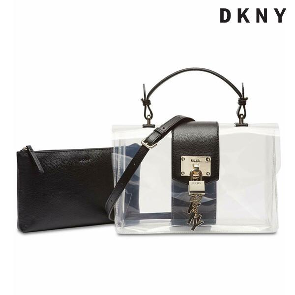 DKNY 디케이엔와이 Elissa Flap Clear 숄더백