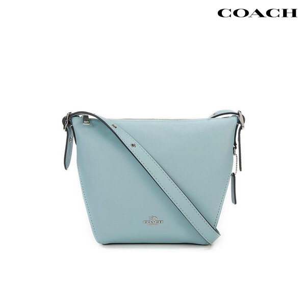 COACH 코치 Small Dufflette in Natural Calf Leather Crossbody 크로스백