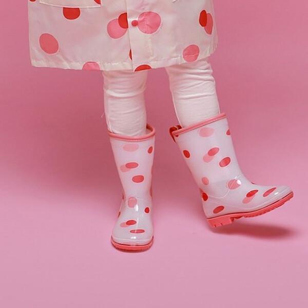 캔디베이비 도트장화 (색상 : 핑크 / 사이즈 : 170mm)