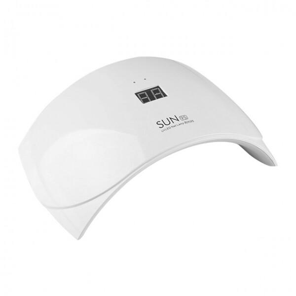 SUN9S 24W UV LED 네일램프 (구성품 : 본체 + DC to USB 어댑터 / 자동센서로 사용쉬움 / 설명서없음 / 전원꽂고사용)