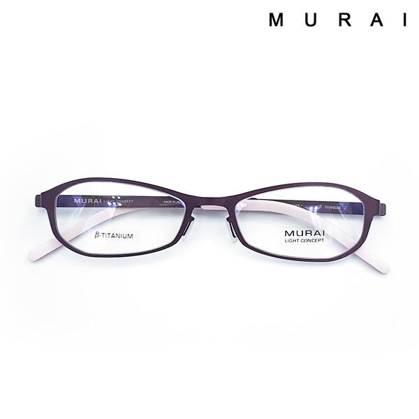 MURAI 무라이 티타늄 경량 안경테 MV702 B40_리씽크팀
