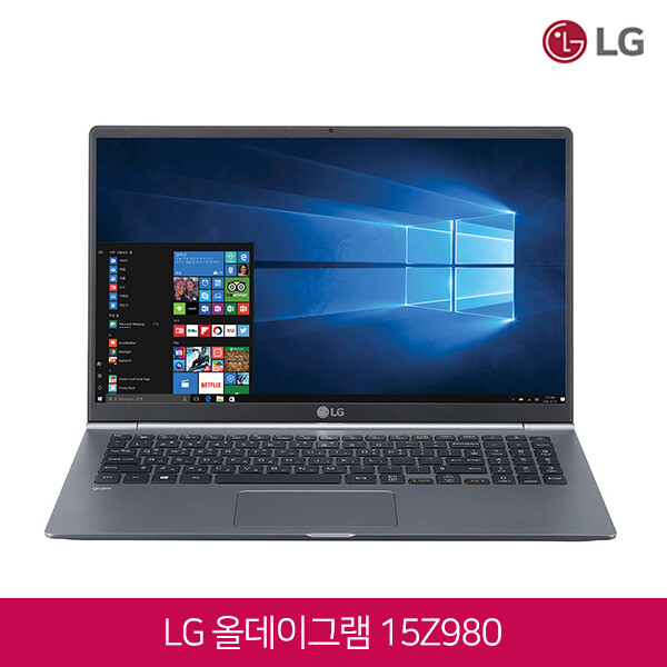 LG 그램 15Z980-A.AAS8U1 그레이 (인텔 8세대 코어i7-8550U/램16G/SSD512G/인텔UHD620/15.6인치FHD 1920x1080/윈도우10/영문자판-한글키스킨증정)