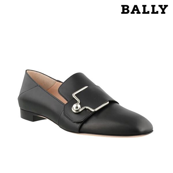 리씽크 롯데광명점 [-20만할인찬스] BALLY 발리 Maelle 500 Pearl Black Leather Loafers 마엘로퍼 블랙_리씽크팀