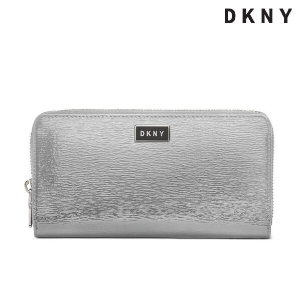 DKNY 디케이엔와이 patent sutton-lg zip 지갑