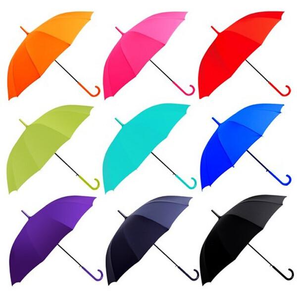 바니브라운 55솔리드 곡자 장우산 (색상 : 블루)