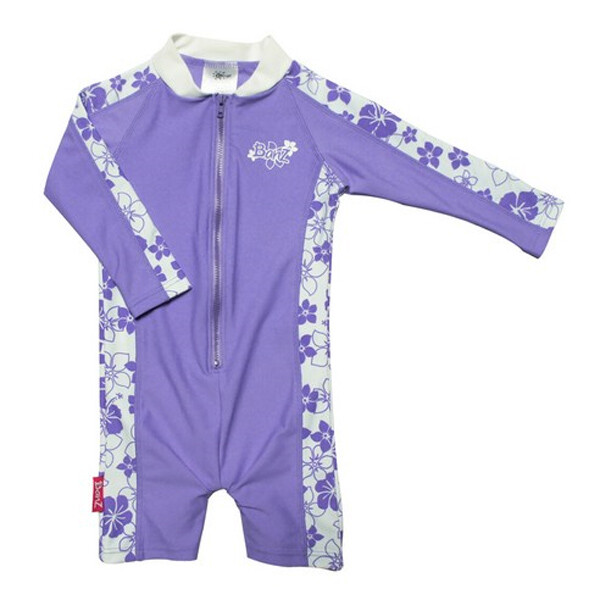 베이비반즈 아동용 원피스 수영복 (색상 : 라벤더 / 사이즈 : 4 , 4-5세)