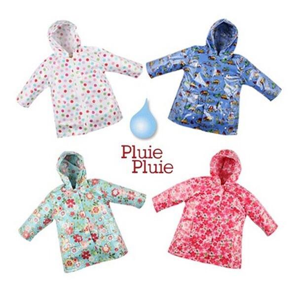 PLUIE PLUIE 플리플리 유아동 블루플로럴 레인코트 (블루플로럴 / 사이즈 4/5 만 4-5세)