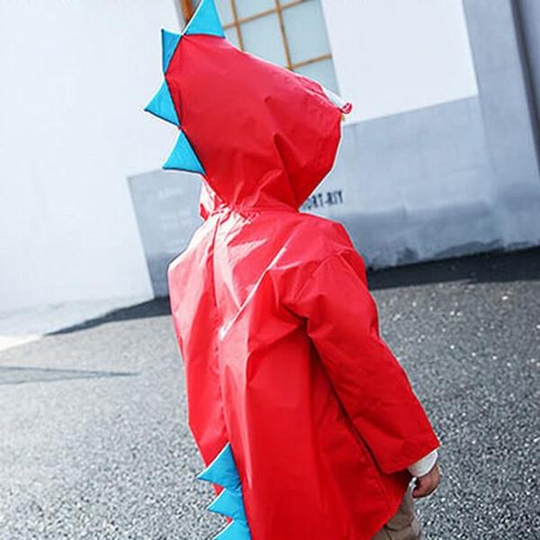 하마테 공룡우비 (색상 : 빨강 / 사이즈 : L )