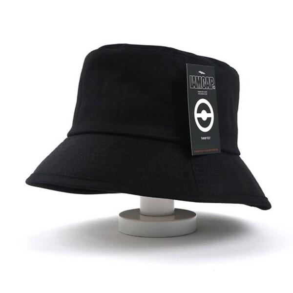 아이엠캡 하이하이 다운챙 버킷햇 모자 (색상 : 블랙 / Onesize / 택없음)