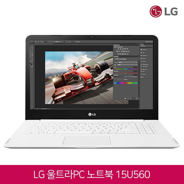 [블랙딜~11/30까지]  LG전자 울트라북 15U560 화이트 (코어i5-6200U/램4G/HDD500G/INTEL HD 520/웹캠/무선랜/15.6 FHD 1920*1080/윈도우10)