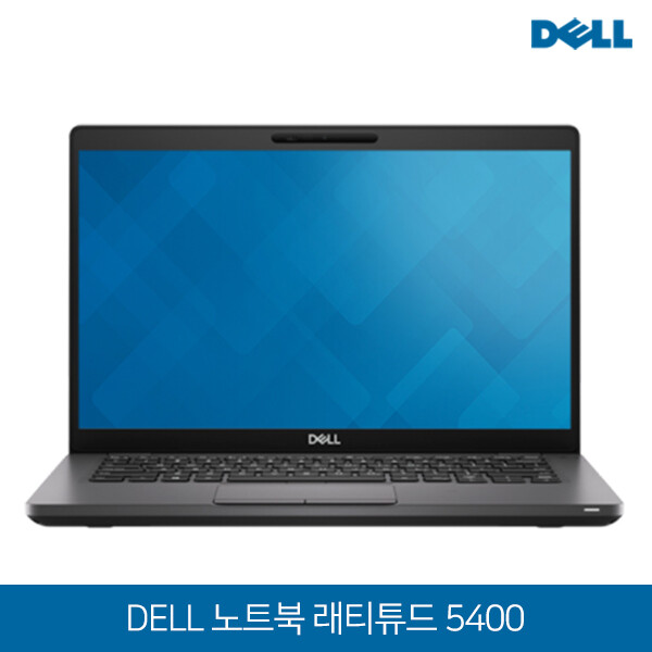 DELL 델 노트북 Latitude 5400 A1502 (Intel i5-8265U/램8G/SSD256G/Intel UHD Graphics 620/14인치 /win10 pro/영문키보드+한글스티커동봉)