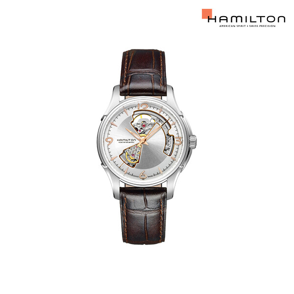 HAMILTON 해밀턴 재즈마스터 오픈하트 오토매틱 시계(H32 565 555)