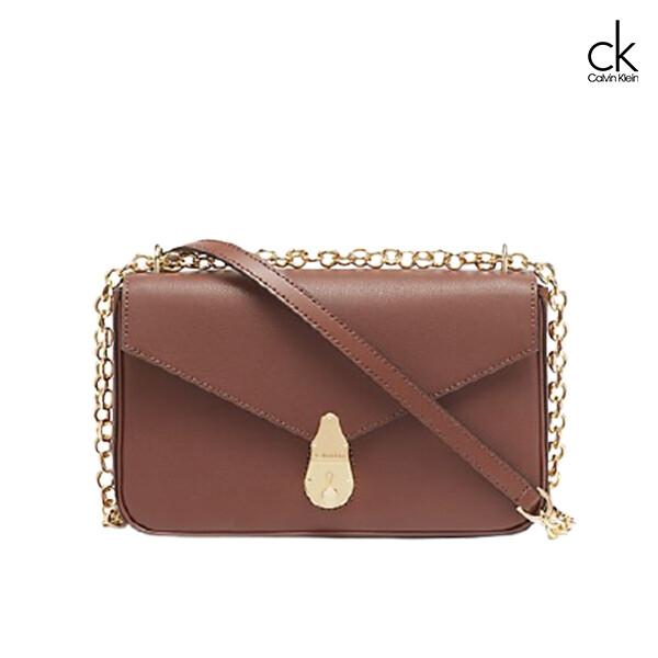 Calvin Klein 캘빈클라인 Lock Leather Small Crossbody Bag 크로스백
