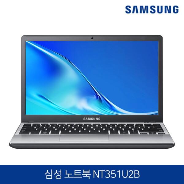 2세대 코어i3 1.4kg 가볍고 슬림한 삼성노트북 NT351U2B 블랙 (코어i3-2350M/램4G/SSD120G/무선랜/12.5인치 1366X768/윈도우10 무료행사)