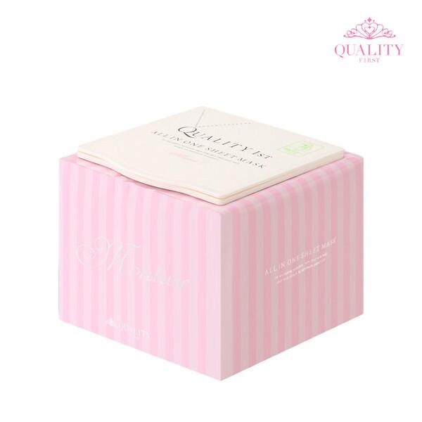 퀄리티 퍼스트 올인원 시트 마스크 모이스트 50 매입 (한국 면세점재고 해외구매대행)
