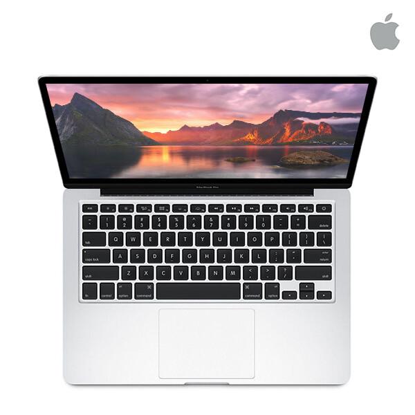 애플 맥북프로 레티나 13형 MF839KH/A (코어i5-2.7GHz/램8G/SSD256G/인텔IrisGraphics6100/웹캠/무선랜/13인치 2560x1600/ios)