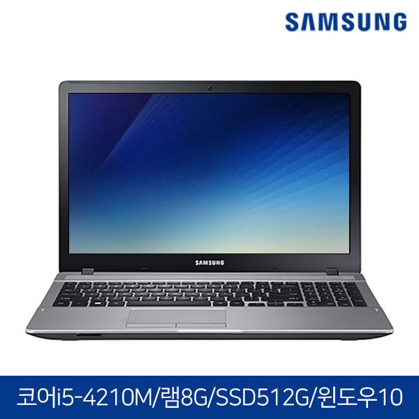 윈도우10탑재! 삼성노트북 NT371B5J 블랙 (코어i5-4210M/램8G/SSD512G/DVD멀티/HD4600/15.6 FHD 1920X1080/윈도우10)