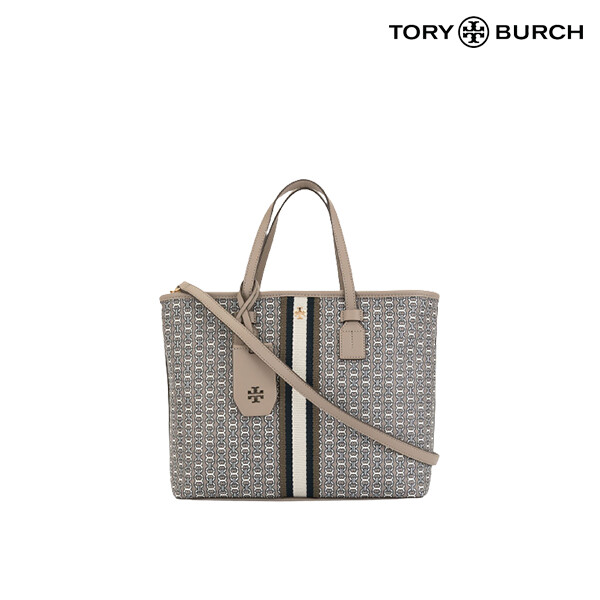 TORY BURCH 토리버치 GEMINI LINK CANVAS SMALL TOTE 토트백
