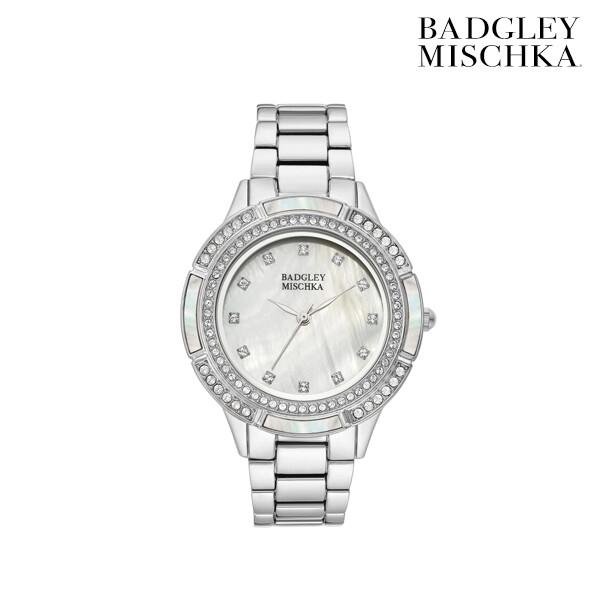 Badgley Mischka 배즐리미슈카 Swarovski Crystal Pearl 명품 시계