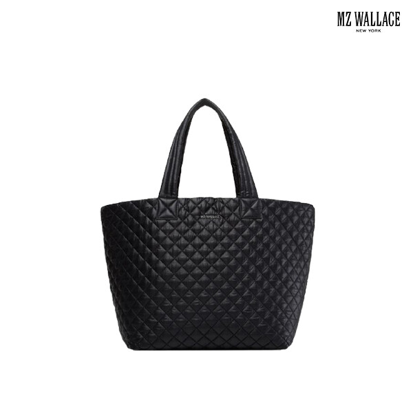 MZ Wallace 미즈 왈레스 METRO TOTE-BLACK REC LARGE BASIC 토트백