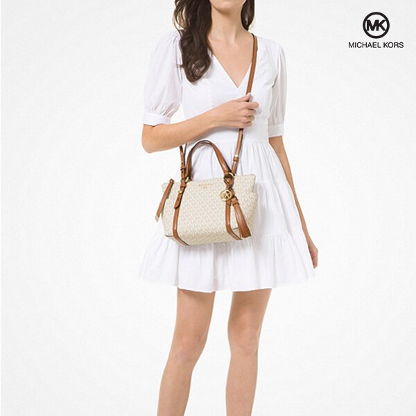 Michael Kors 마이클 코어스 Sullivan Small Logo Top-Zip Tote Bag 토트백