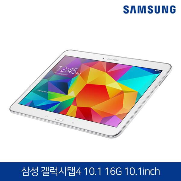 삼성 가성비 태블릿PC 초특가집합! 삼성 갤럭시탭4 10.1 화이트 (WiFi / 16GB / 본품, 충전기 출고)