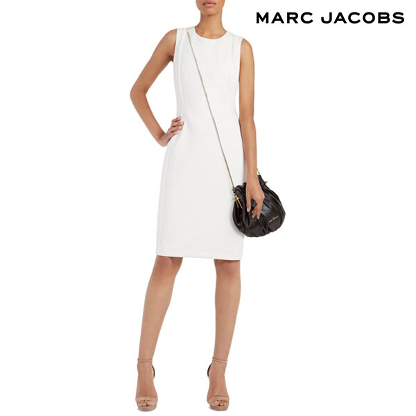 Marc Jacobs 마크 제이콥스 The Soiree Crossbody Handbags_Black 크로스백 (어깨끈 고리불량, 가죽벗겨짐)_리씽크팀