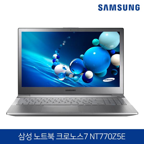 3세대 코어i7 삼성노트북 NT770Z5E 메탈실버 (코어i7-3740QM/램8G/SSD256G/RADEON HD 8800M/웹캠/무선랜/15.6 FHD 1920*1080/윈도우10)