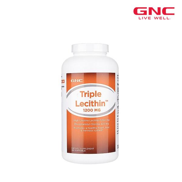 GNC 지앤씨 TRIPLE LECITHIN 1200 트리플 레시틴 1200mg (면세점재고 / 해외구매대행 / 유통기한 5월)