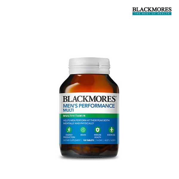 BLACKMORES 블랙모어스 남성용 종합영양제 100캡슐 (면세점재고 / 해외구매대행 / 유통기한 7월 17일)