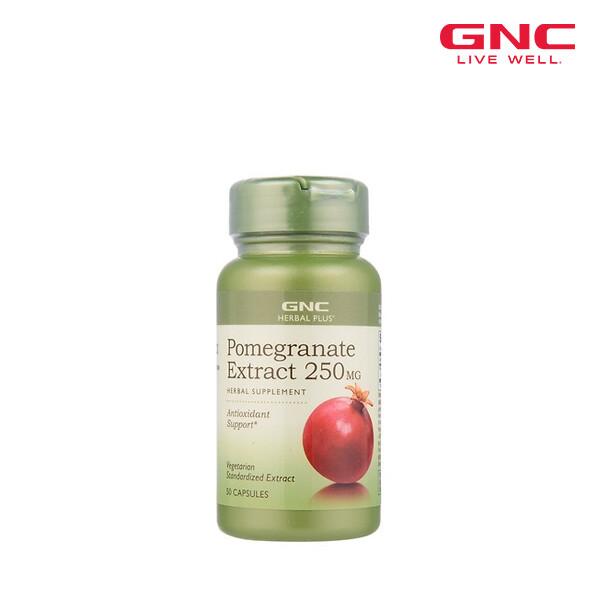 GNC 지앤씨 POMEGRANATE 석류 추출물 50정 [천연식물성에스트로겐] (면세점재고 / 해외구매대행 / 유통기한 5월31일)