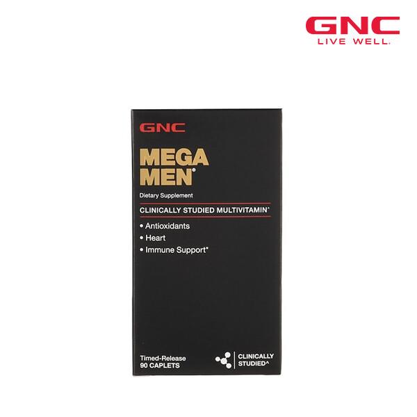 GNC 지앤씨 MEGA MEN  메가맨 90정 [남성용 종합비타민] (면세점재고 / 해외구매대행 / 유통기한 5월31일)