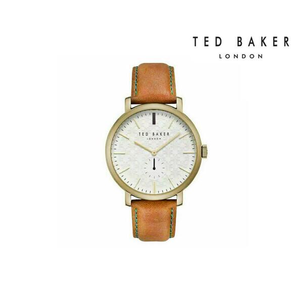 TED BAKER Gold Hamilton Case Men's Quartz Watch 남성 손목 시계