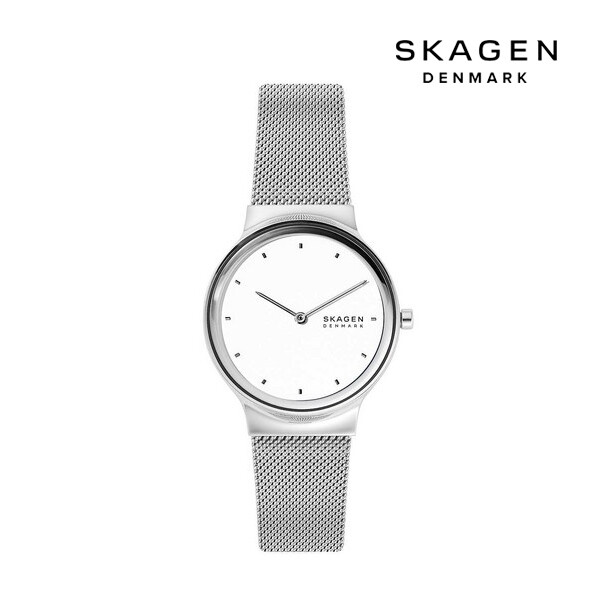 SKAGEN 스카겐 SKW2823 Ladies Mesh Bracelet Watch 여성 명품 시계