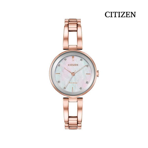CITIZEN 시티즌 EM0803-55D Eco-Drive Axiom Ladies Quartz Watch 여성 명품 시계