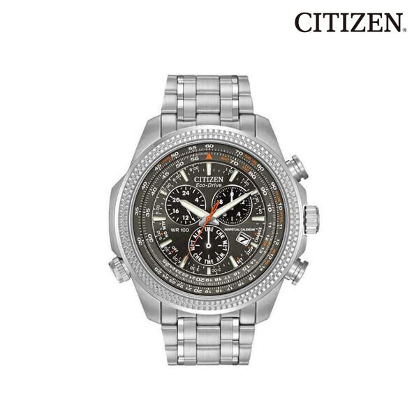 Citizen 시티즌 Eco Drive Chronograph Perpetual Calendar BL5400-52H 명품시계