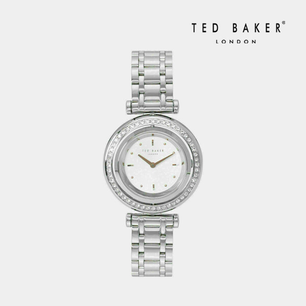 TED BAKER 테드베이커 TE50521002 Stainless Steel Rotating Case Watch 여성 손목 시계