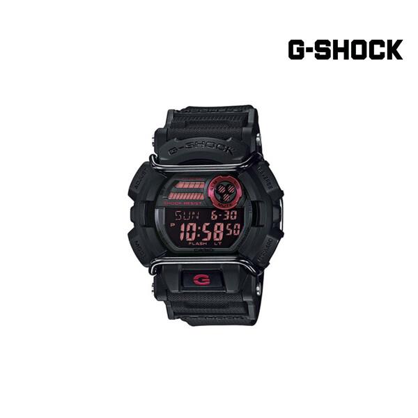 CASIO G-SHOCK GD400-1 Casio G-Shock Black 남성 손목 시계 (사용감 있음)