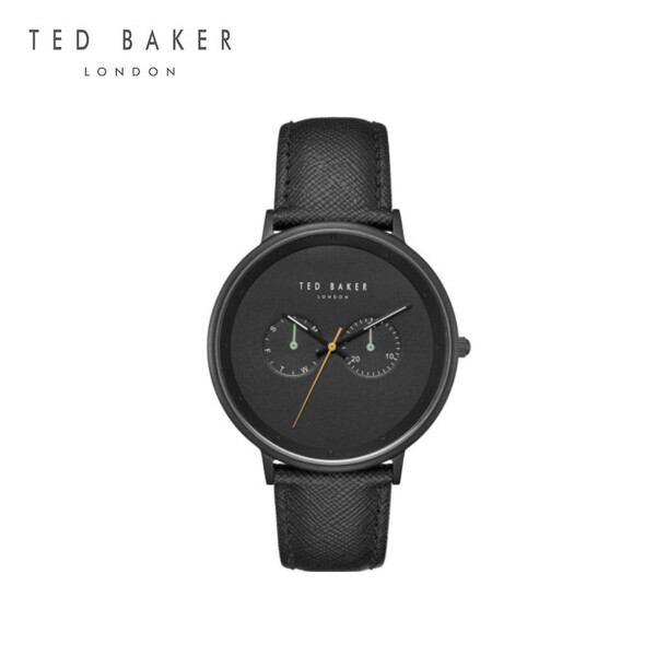 TED BAKER 테드베이커 Black Leather Strap Mens Dial Quartz TE50657002  남성시계