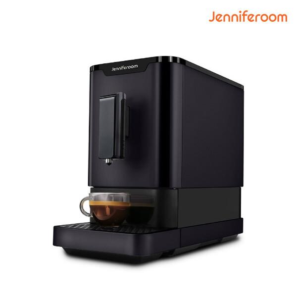 단순박스개봉 상품! 제니퍼룸 컴팩트 전자동 에스프레소 커피머신 JR-EM0212G 그레이