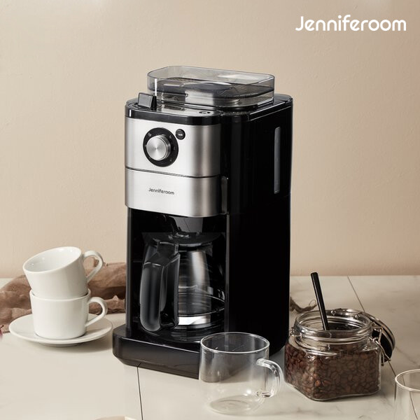 단순박스개봉 상품! 제니퍼룸 전자동 커피메이커 JR-C3513BK 블랙