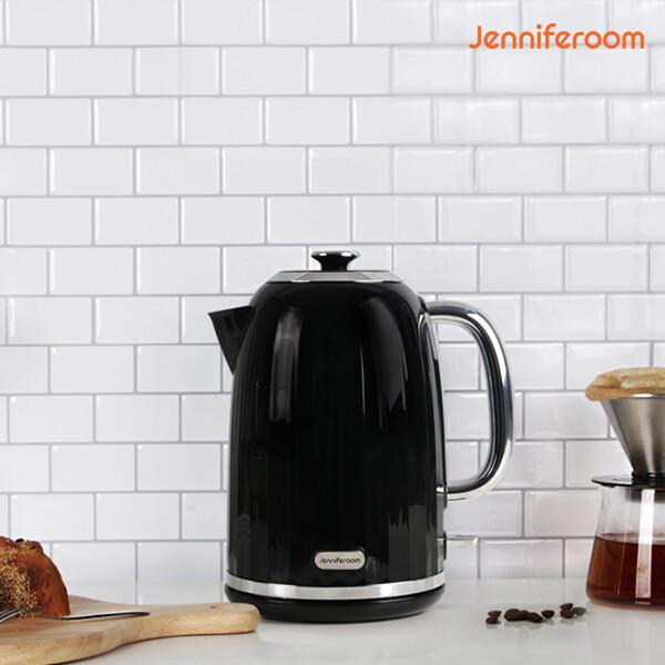 단순박스개봉 상품! 제니퍼룸 대용량 전기포트 블랙 JKS-M81710BK