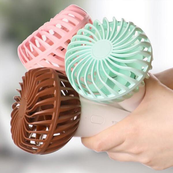[사전예약~05/20일부터 순차발송]  트리코 휴대용 아이스크림 선풍기 (BLDC모터)