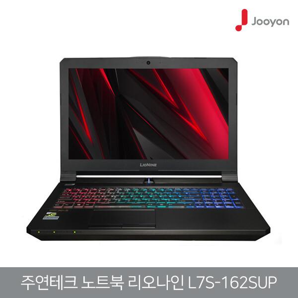 7세대 코어i7 주연테크 리오나인 L7S-162SUP (코어i7-7700HQ/램16G/SSD256G/지포스GTX1060-6G/15.6인치FHD 1920x1080/윈도우10)